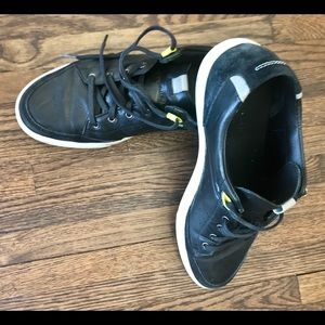 Cole Haan Black Sport Sneakers w leather/suede.